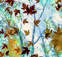 Raining Leaves by Mikell Herrick
