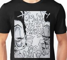 Smoking Makes Me Pretty Unisex T-Shirt