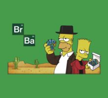 Simpsons Breaking Bad by Silros