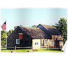 The Olde Blacksmith Shop Poster