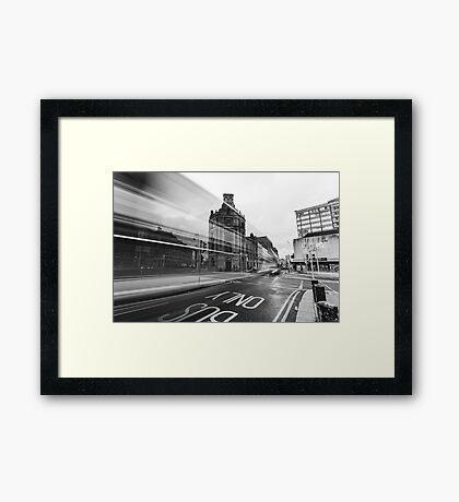 Townsend Street, Dublin Framed Print