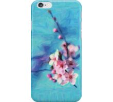 Cherry Flower - Painting iPhone Case/Skin