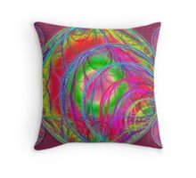 Phases Throw Pillow