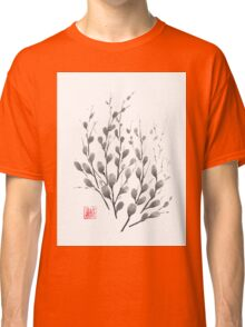 Gentle promise sumi-e painting Classic T-Shirt