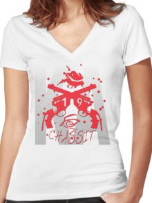 Chassit - All is 19 Women's Fitted V-Neck T-Shirt