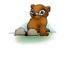 Bear Teacher by VladaNaf