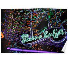 neon buffet Poster