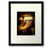 Baker Street tube =London Framed Print