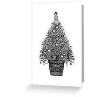 The Neverwas Christmas Tree Greeting Card