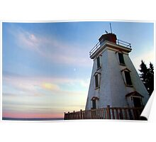 Cape Bear Lighthouse Poster