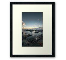 Be Water, my Friend || Troon, Scotland Framed Print