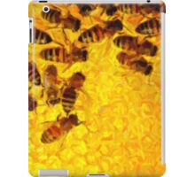 Bees for ipad - painting iPad Case/Skin