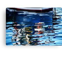 Slippery Dick Reflections 2 ~ Lyme Regis Canvas Print