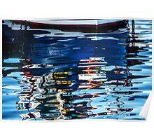 Slippery Dick Reflections 2 ~ Lyme Regis Poster