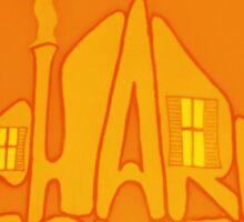 Pharmhouse Orange and Red Sticker