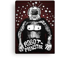 Robot Monster Canvas Print