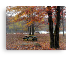 When All Is Quiet Canvas Print