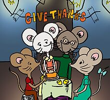 Give Thanks by Natalie Easton