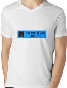 For rectal use only Mens V-Neck T-Shirt