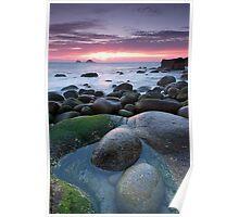 Porth Nanven Sunset Poster