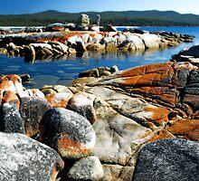 Bay of Fires Tasmania by Imi Koetz