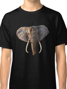 Elephant Face Classic T-Shirt