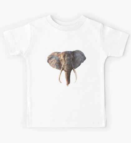 Elephant Face Kids Tee