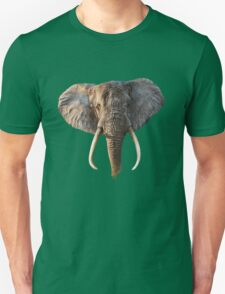 Elephant Face Unisex T-Shirt