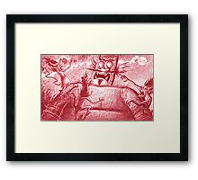 Devil's night Framed Print