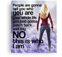 Emma Quote poster Canvas Print
