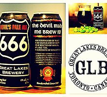 Devil's Pale Ale 666 ~ Great Lakes Brewery by ©The Creative  Minds