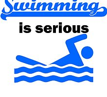 Swimming Is Serious by kwg2200