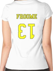 Froome 13 Jersey Women's Fitted Scoop T-Shirt