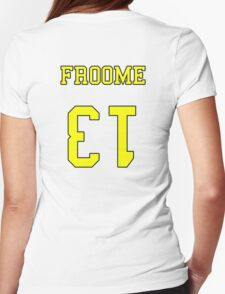 Froome 13 Jersey Womens Fitted T-Shirt