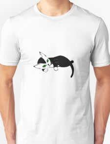 Black and White Kitten Unisex T-Shirt
