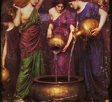 Danaides and the Leaking Vessel by dianegaddis