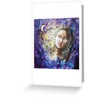 Windy feelings Greeting Card