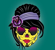 SUGAR SKULL by mark ashkenazi
