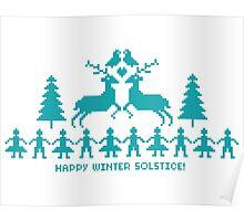 Lykke - Happy Solstice! Poster