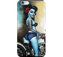 Rebelle Pin Up By BigToe iPhone Case/Skin