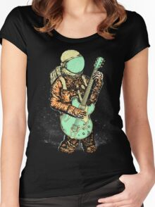alone in my space Women's Fitted Scoop T-Shirt