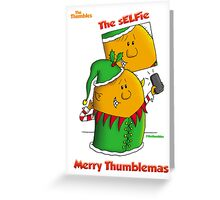 The sELFie Greeting Card