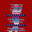 Two types of people understand Veterans... by Buckwhite