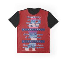 Two types of people understand Veterans... Graphic T-Shirt