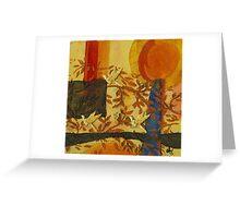 The Humming Society - WIP Greeting Card