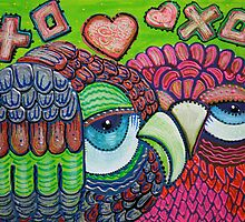 Owl Love by Laura Barbosa