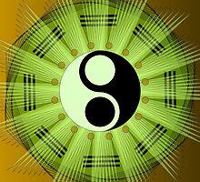 Yin Yang Mandala by shoffman