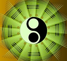 Yin Yang Mandala by Sarah Niebank