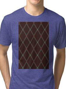 Vox-style vintage amplifier grill cloth Tri-blend T-Shirt