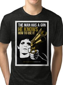 Carrying a Gun Tri-blend T-Shirt